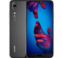 Huawei P20 Black CZ/SK Distribuce